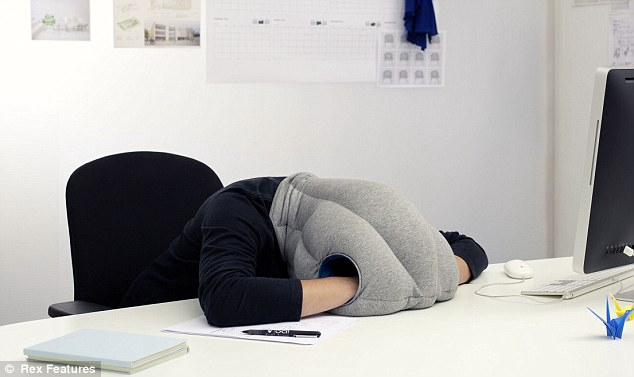 Ostrich Pillow « Jacob Diggle